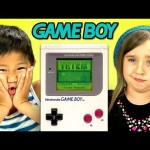 How kids react to an old Game Boy..is kind of sad.